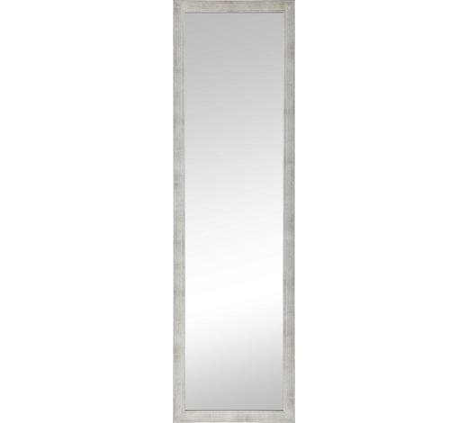 WANDSPIEGEL  36/126 cm  - Silberfarben, Design, Glas/Holzwerkstoff (36/126cm)