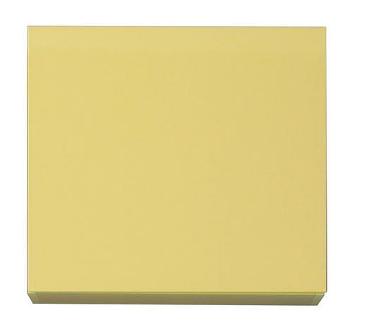 HÄNGEWÜRFEL in  Gelb - Gelb, Design, Holzwerkstoff (57/51/31cm) - Carryhome
