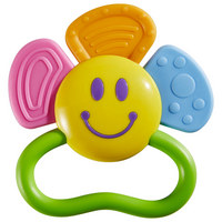 Beißring Mit Rassel 3 Monat(e) - Multicolor, Basics, Kunststoff (11/11cm) - My Baby Lou