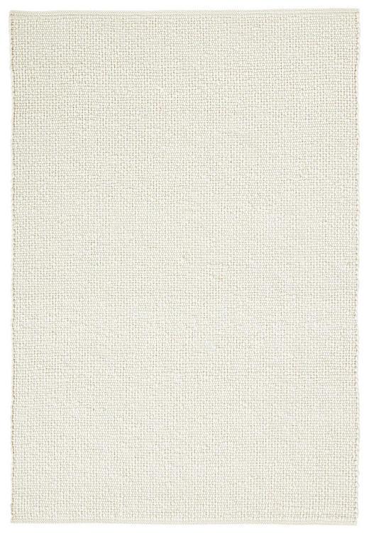 HANDWEBTEPPICH  170/230 cm  Weiß - Weiß, Basics, Weitere Naturmaterialien (170/230cm) - Linea Natura