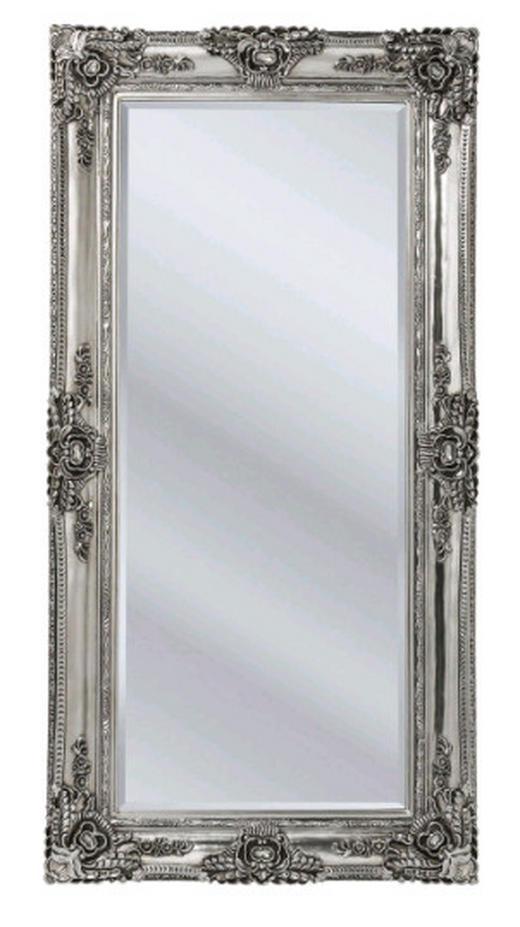 SPIEGEL Silberfarben - Silberfarben, Design, Glas/Holz (104/203/8,5cm) - Kare-Design