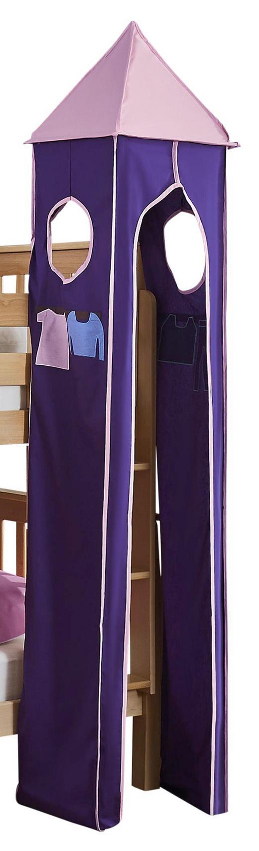 TURMSET Lila, Rosa - Lila/Rosa, Design, Textil (40/200/40cm)