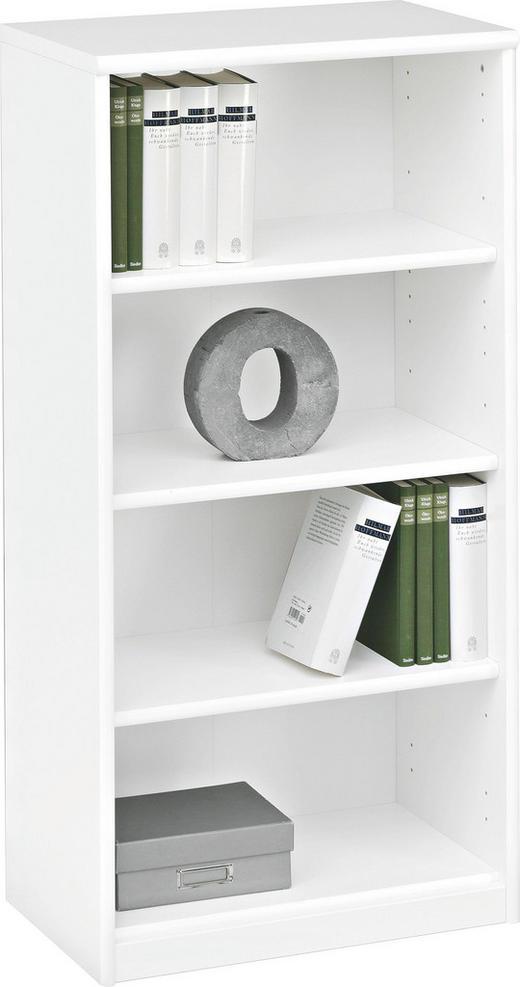 REGAL Weiß - Weiß, Design, Holzwerkstoff (55/110/36cm) - CS SCHMAL