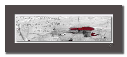 Abstraktes UNIKAT AUF ALUPASSEPARTOUT - Multicolor, Design (50/125cm) - Wiedemann