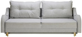 BÄDDSOFFA - grå, Design, trä/textil (220/73/95cm) - Carryhome