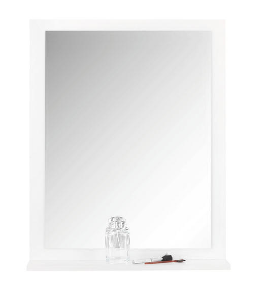 SPIEGEL - Weiß, Design, Glas/Holzwerkstoff (58,8/73,2/14cm) - Xora