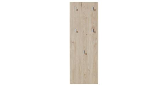 GARDEROBENPANEEL 37/109/2 cm  - Eichefarben, KONVENTIONELL, Holzwerkstoff (37/109/2cm) - Xora