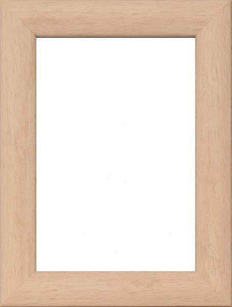BILDERRAHMEN in Naturfarben - Naturfarben, Basics, Glas/Holz (30/42cm)
