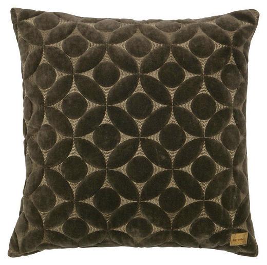 ZIERKISSEN - Taupe, Design, Textil (50/50cm) - Carryhome