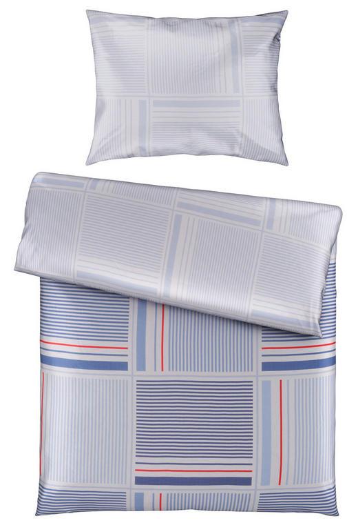 BETTWÄSCHE 140/200 cm - Blau/Rot, KONVENTIONELL, Textil (140/200cm) - Novel