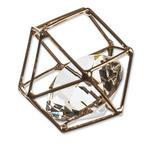 STREUDEKO  - Goldfarben, Basics, Kunststoff/Metall (3/8/6cm) - Ambia Home