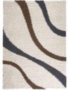 TEPIH VISOKOG FLORA  bež     - bež, Basics, tekstil (120/170cm) - Boxxx