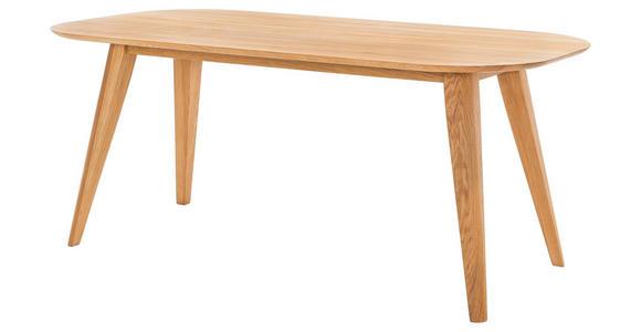 ESSTISCH in Holz 200/100/75,5 cm   - Eichefarben, KONVENTIONELL, Holz (200/100/75,5cm) - Voleo