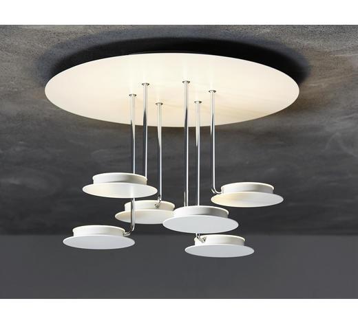 LED-DECKENLEUCHTE - Weiß, Design, Metall (37/26cm)