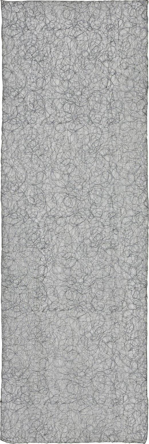 TISCHLÄUFER Textil Silberfarben 45/140 cm - Silberfarben, Basics, Textil (45/140cm)