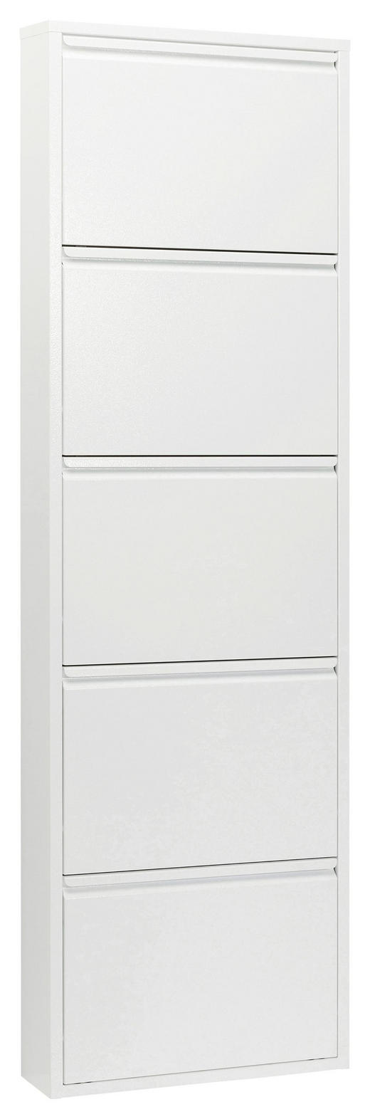 SCHUHKIPPER Weiß - Weiß, Basics, Metall (50/170/14cm) - Kare-Design