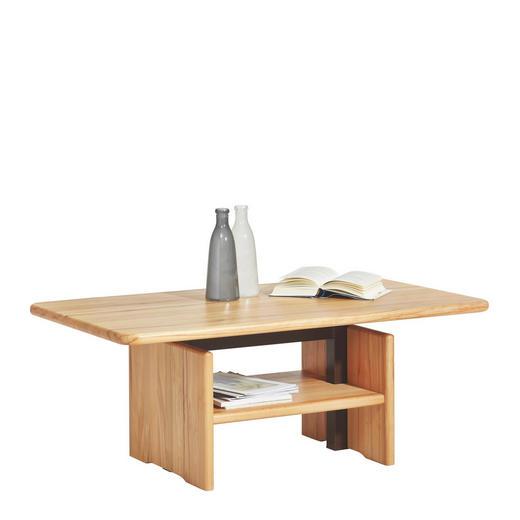 COUCHTISCH Kernbuche massiv rechteckig Buchefarben - Buchefarben, Design, Holz (120/46/70cm) - Escando Natürlich Wo