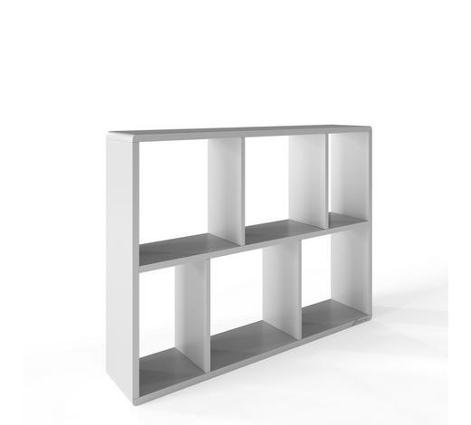 REGAL Anthrazit, Grau  - Anthrazit/Grau, Design, Holzwerkstoff (97.6/74/34cm) - Stylife