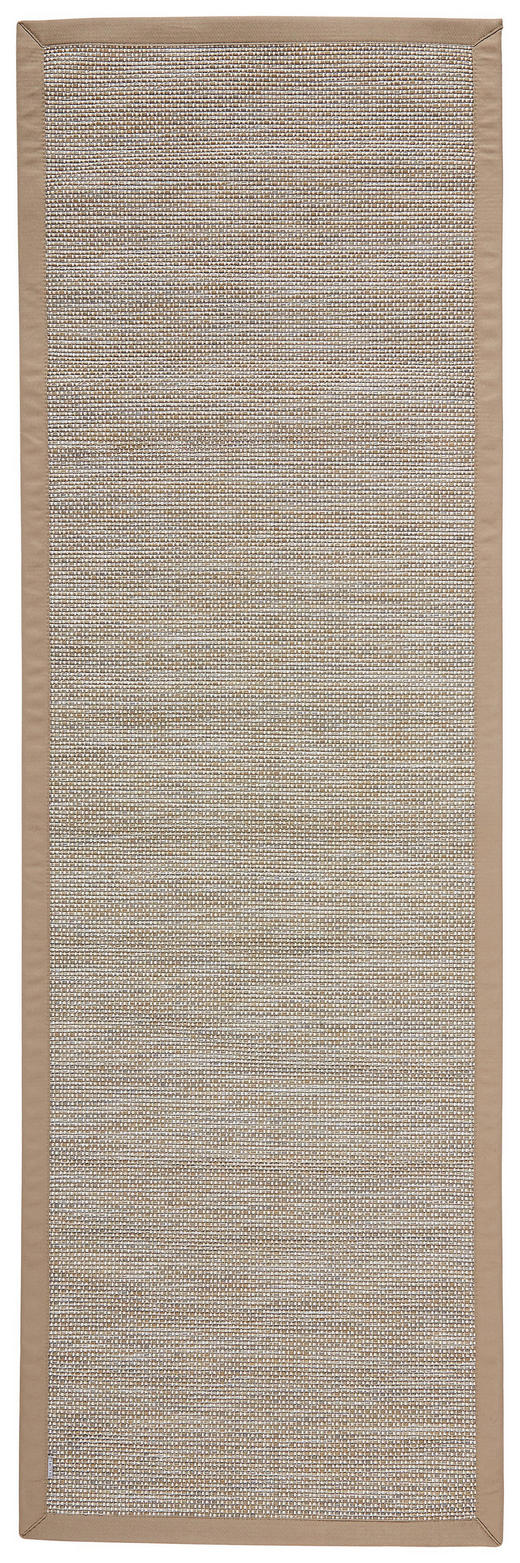 LÄUFER  In-/ Outdoor 80/250 cm  Grau, Hellbraun - Hellbraun/Grau, Textil (80/250cm) - Novel