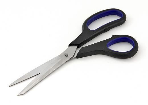 SCHERE - Blau/Schwarz, Basics, Kunststoff/Metall (22cm) - HOMEWARE