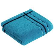 HANDTUCH 50/100 cm - Hellblau, Design, Textil (50/100cm) - Vossen