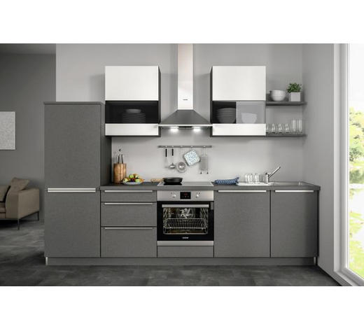 Küchenblock ohne E-Geräte Spüle, Soft-Close-System