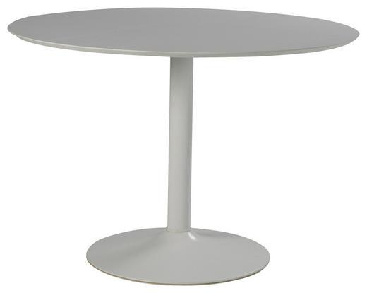 ESSTISCH Weiß - Weiß, Design, Metall (110cm) - Carryhome