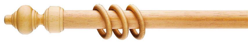 RUNDSTANGE 160 cm  - Eichefarben, LIFESTYLE, Holz (160cm) - Homeware
