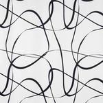 DEKOSTOFF per lfm Verdunkelung  - Schwarz/Weiß, Design, Textil (140cm) - Esposa