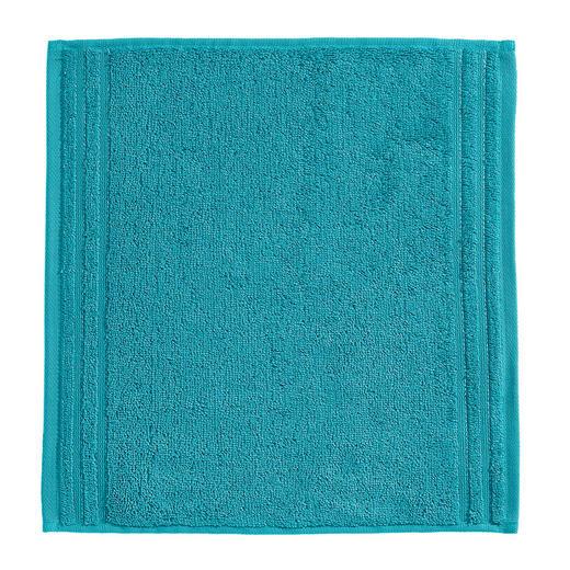 SEIFTUCH  Petrol - Petrol, Basics, Textil (30/30cm) - VOSSEN