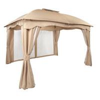 PAVILJON - tamno smeđa/bež, Design, tekstil/metal (365/210/284/300cm) - Ambia Garden