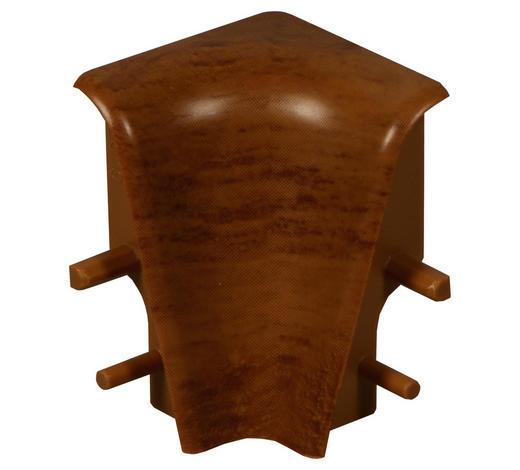 ROH VNITŘNÍ  (za kus) - barvy ořechu, Basics, umělá hmota (-/2,01/3,96cm)