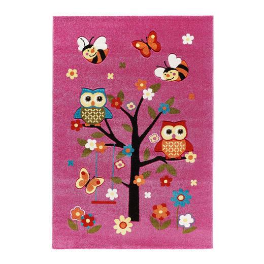 KINDERTEPPICH  80/150 cm  Rosa - Rosa, KONVENTIONELL, Textil/Weitere Naturmaterialien (80/150cm) - Ben'n'jen