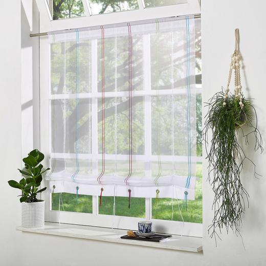 FERTIGVORHANG  transparent - Multicolor, Textil (90/120cm)