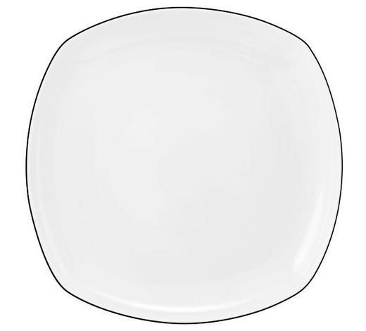 SPEISETELLER 26 cm - Schwarz/Weiß, Basics, Keramik (26cm) - Seltmann Weiden