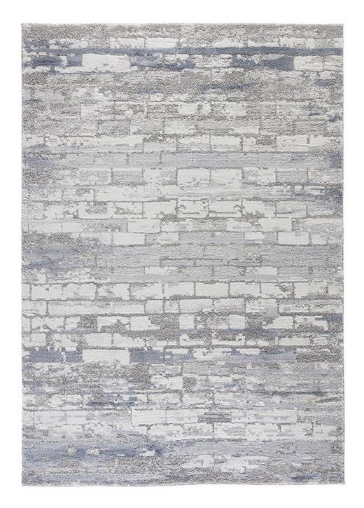 WEBTEPPICH - Blau, Design, Textil (160/230/cm) - Esposa