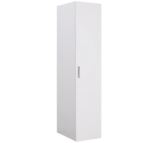 ŠATNÍ SKŘÍŇ, bílá,  - bílá/barvy chromu, Design, kompozitní dřevo/umělá hmota (50/185/54cm) - Xora