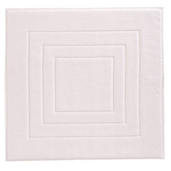 BADEMATTE in Weiß 60/60 cm - Weiß, Basics, Textil (60/60cm) - VOSSEN