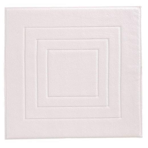 BADEMATTE  Weiß  60/60 cm - Weiß, Basics, Textil (60/60cm) - Vossen