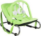 HOUPAČKA - barvy stříbra/světle zelená, Basics, kov/textil (50/40/74cm) - MY BABY LOU
