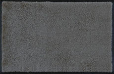 FUßMATTE 60/90 cm Uni Dunkelgrau - Dunkelgrau, Basics, Kunststoff/Textil (60/90cm) - Esposa