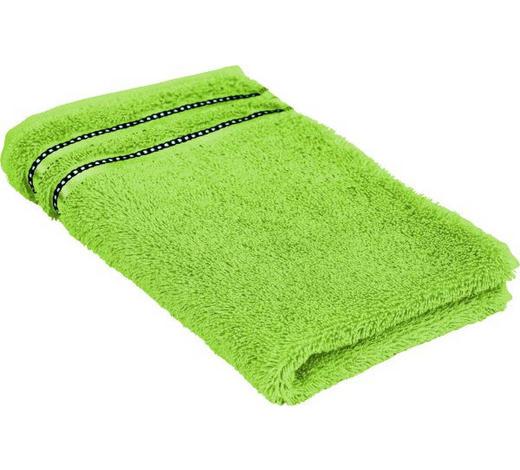 RUČNIK ZA GOSTE - zelena, Basics, tekstil (30/50cm) - Vossen