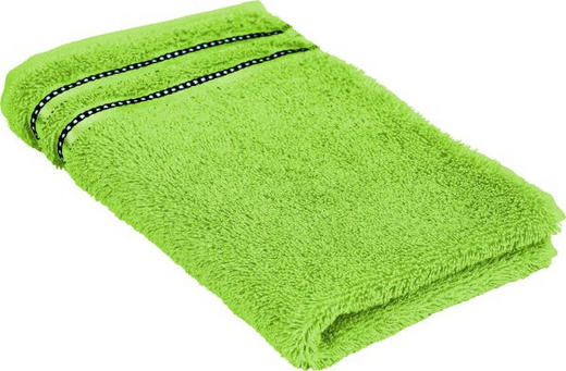 RUČNIK ZA GOSTE - zelena, tekstil (30/50cm) - Vossen