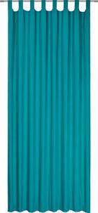 ZAVJESA S OMČAMA - tirkizna, Konvencionalno, tekstil (135/245cm) - BOXXX