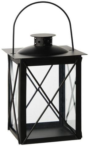 LYKTA - svart, Design, metall/glas (15/20/15cm) - Ambia Home