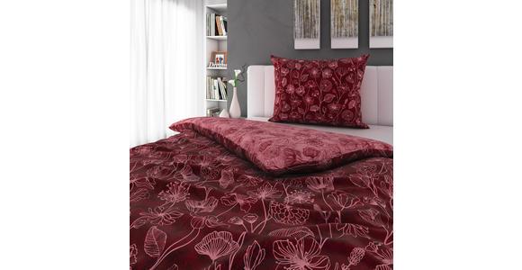 BETTWÄSCHE 140/200 cm  - Bordeaux/Rosa, KONVENTIONELL, Textil (140/200cm) - Esposa