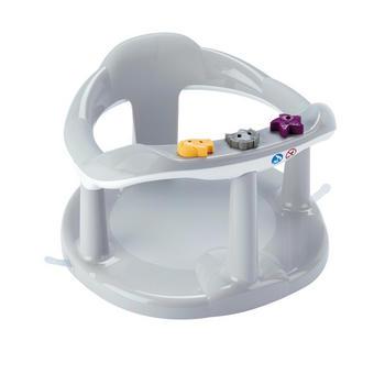 Badewanneneinsatz Aquababy - Hellgrau/Weiß, Basics, Kunststoff (33/32/23,5cm)