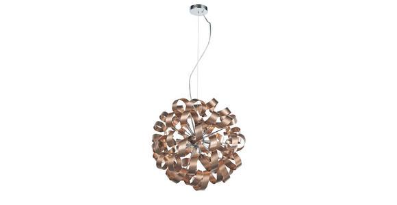 LED-HÄNGELEUCHTE 40/320 cm  - Kupferfarben, Design, Metall (40/320cm) - Ambiente