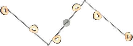 LED-STRAHLER - Silberfarben, Design, Kunststoff/Metall (180cm) - Boxxx