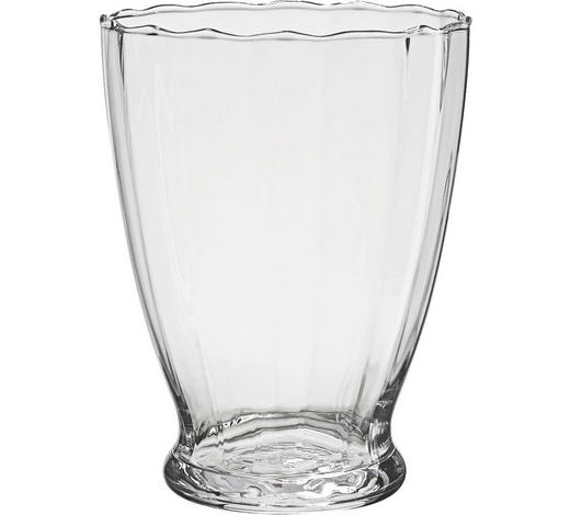 VÁZA, čiré - čiré, Basics, sklo (12/19cm) - Ambia Home